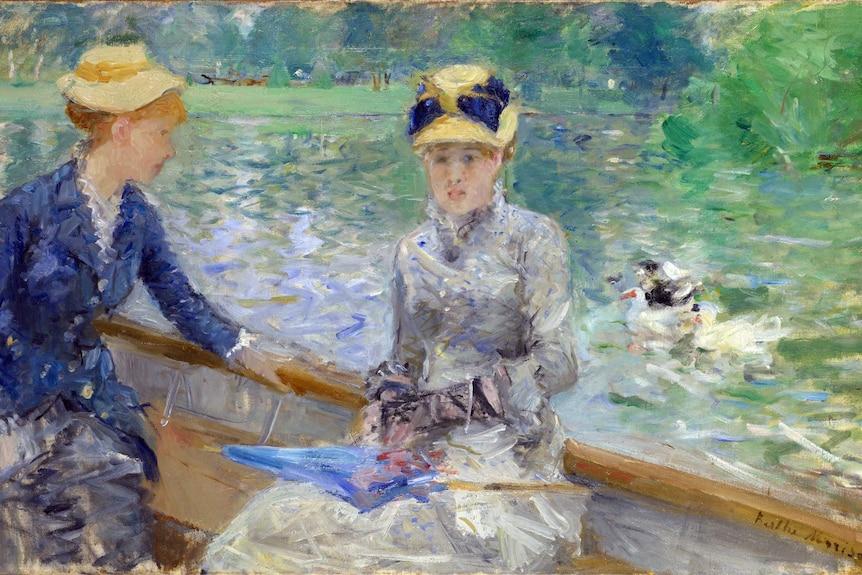 Berthe Morisot, Sommertag — Summer's Day — 1879