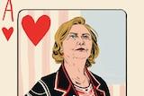 Hillary Clinton 'woman's card'