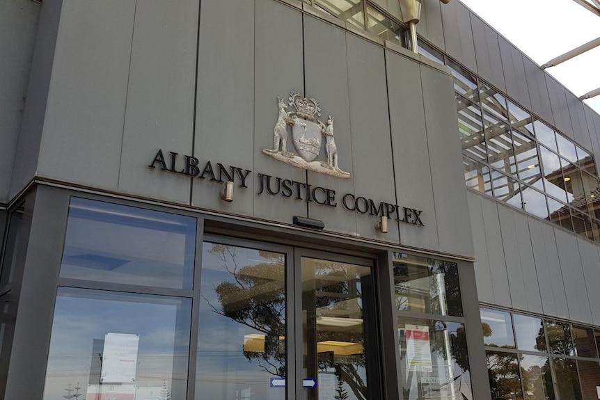 A court house.