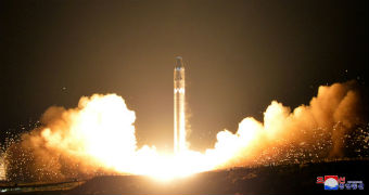 North Korea rocket launching