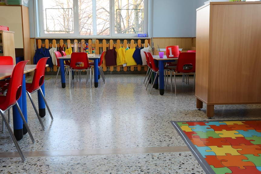 A generic image of a room in a childcare centre.