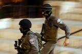 Israeli police run following stabbing attack in Jerusalem