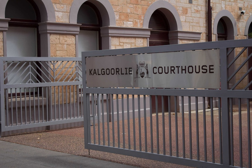Entryway to the Kalgoorlie Courthouse