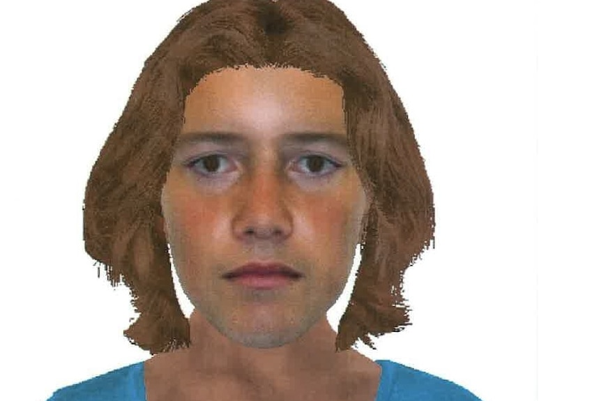 A police COMFIT image of a man wanted over the sexual assault of a young girl at Summerland Point in January 2011.