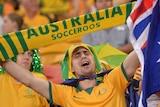 Socceroos fan generic