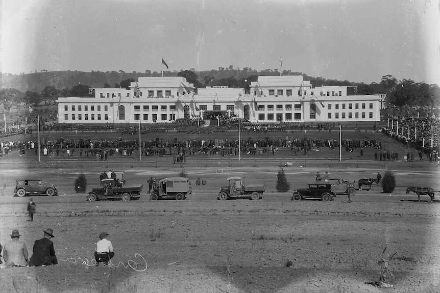 Parliament House in 1927