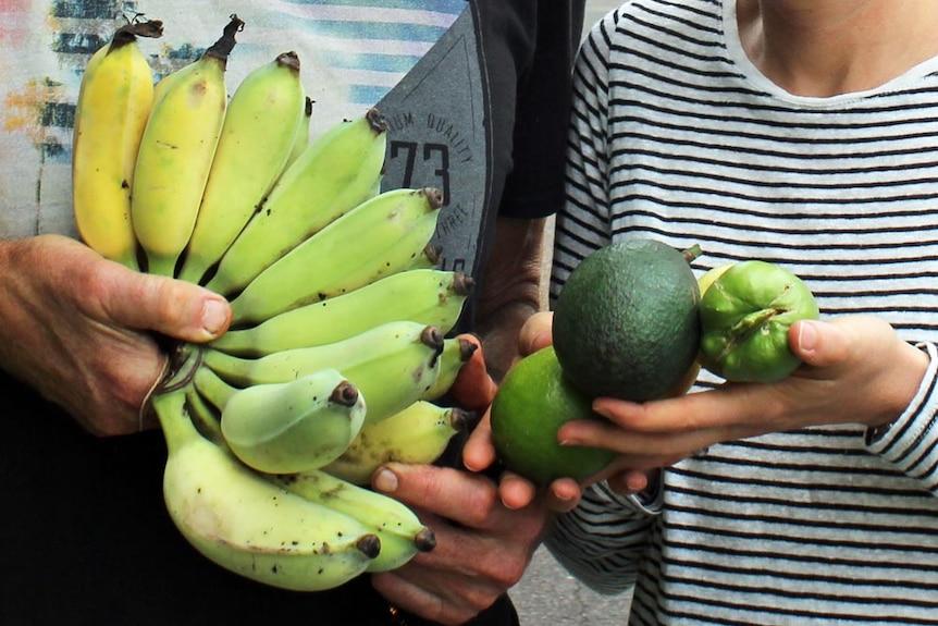 The plentiful produce from Buderim's Urban Food Street.