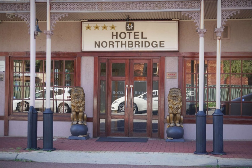 The exterior of a hotel in Northbridge