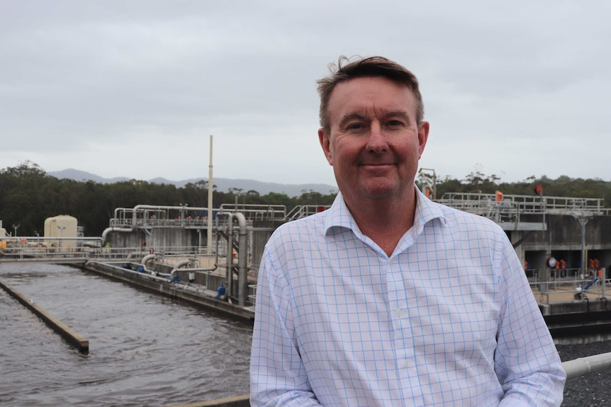 Coffs Harbour City Council's director of sustainable infrastructure, Mick Raby