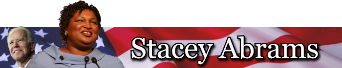 Stacey Abrams Banner