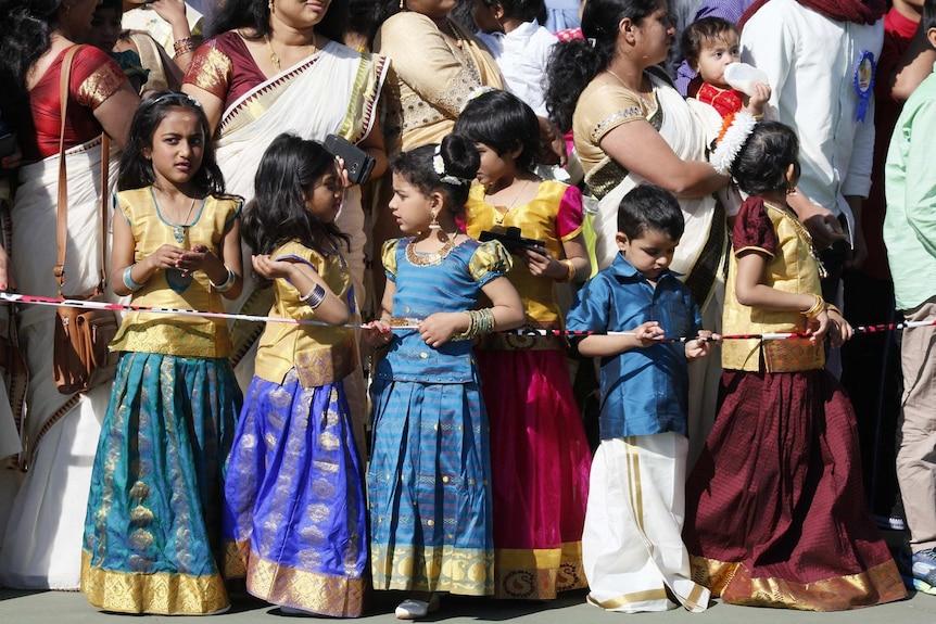 Hundreds of people normally attend Bendigo's Onam Harvest Festival.
