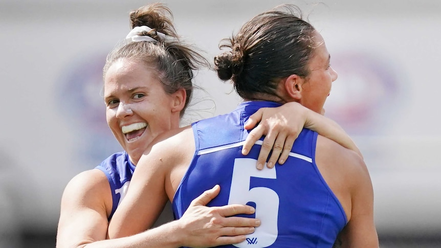 Kangaroos thump Tigers to show why they're an AFLW premiership contender