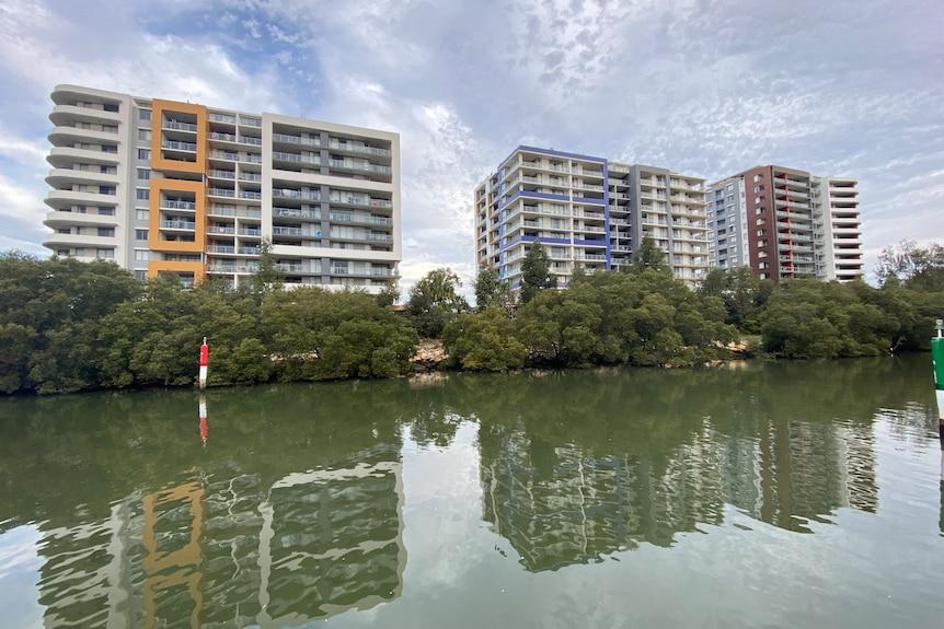 Two apartment blocks