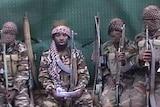 A video screengrab shows a man claiming to be Abubakar Shekau, the leader of Nigerian Islamist extremist group Boko Haram.