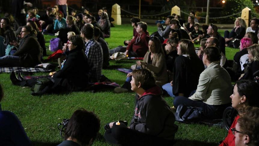 The homeless vigil