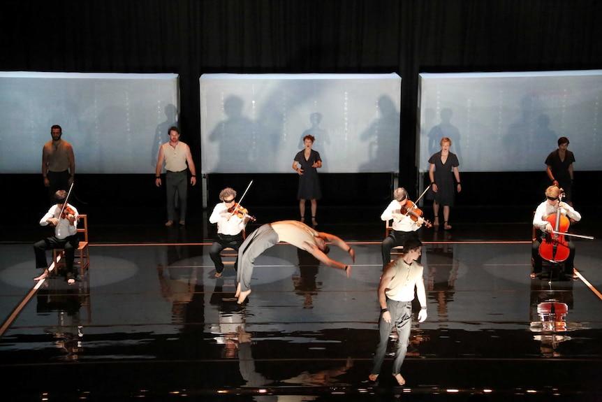 Circus company Circa performing