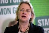 Greens Party leader Natalie Bennett