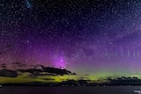 Peter Deck photo of aurora australis 6 November 2018