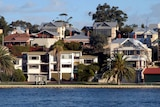 Riverfront property sits by the Swan River in Perth