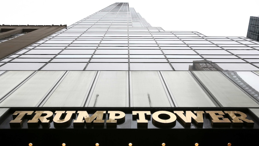 Trump Tower on 5th Avenue is pictured in the Manhattan borough of New York City