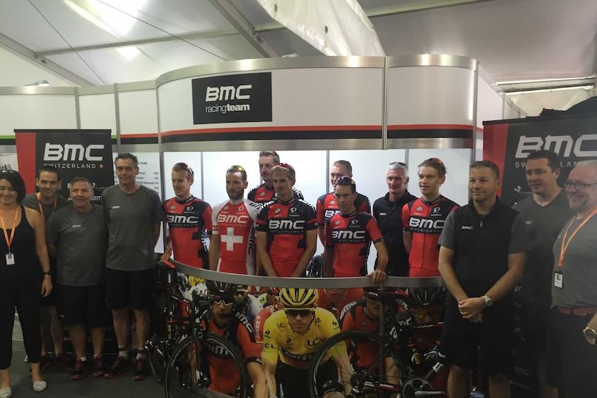 Team BMC ready for Tour Down Under
