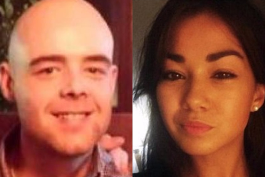 Composite image of Queensland backpacker killing victims Tom Jackson and Mia Ayliffe-Chung.