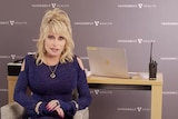 "Dolly Parton sings altered version of her hit song ""Jolene"" as she receives her first dose of Moderna vaccine"