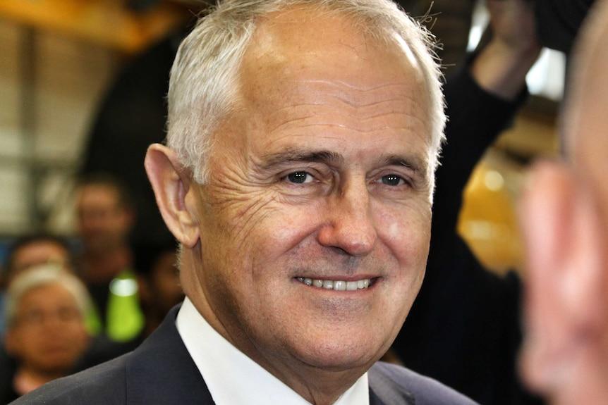 Headshot of Malcolm Turnbull