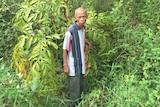 Radimin stands in unused grave