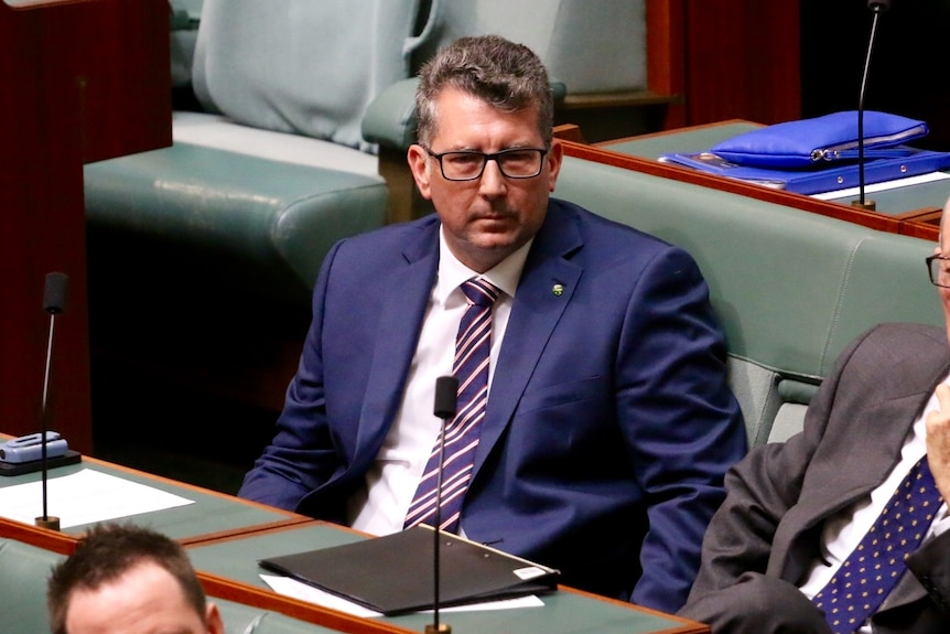 Keith Pitt sitting in the House of Representatives