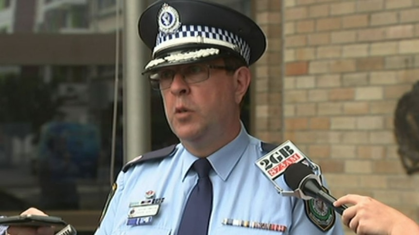 NSW Police Assistant Commissioner Mark Walton details the Maroubra incident