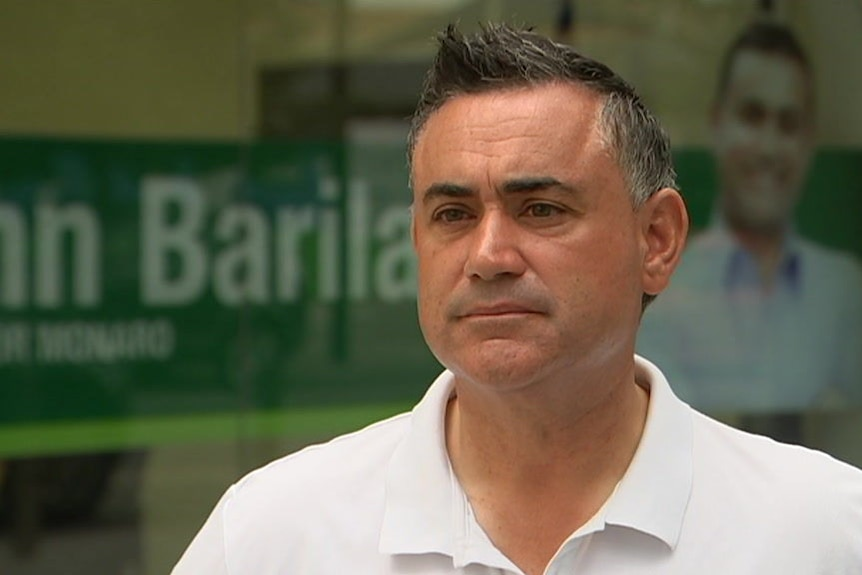 NSW Nationals Leader John Barilaro says the party needs to rebuild trust with regional voters.