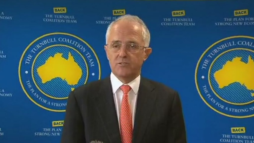 Malcolm Turnbull says he recognises people will be concerned about 'uncertainty and instability'