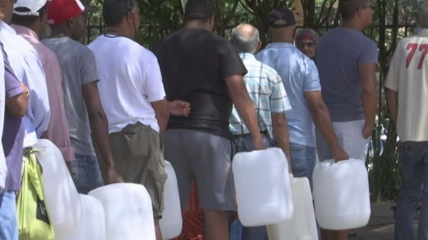 Cape Town residents have had limited access to water amid a drying climate