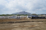 The new Bomana Immigration Centre being built on the outskirts of Port Moresby.