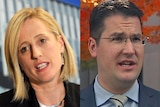Composite of the ACT's two Senators, Katy Gallagher and Zed Seselja.