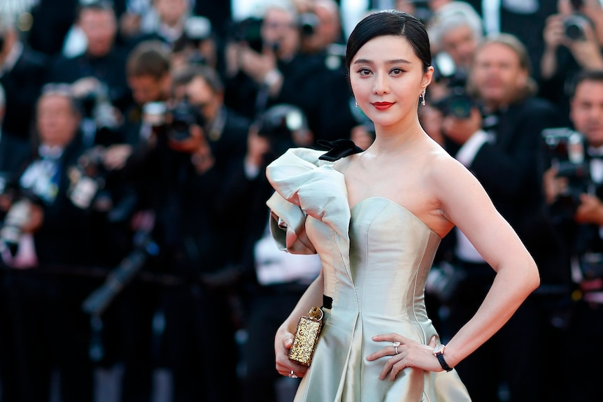 According to Chinese media, movie star Fan Bingbing was fined for tax evasion.