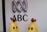 Bananas in Pyjamas models back where they belong