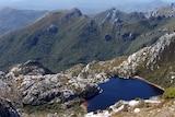 Mountain ranges in Tasmania's southwest.