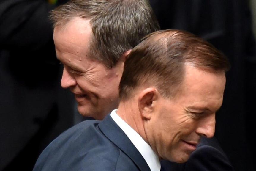 Tony Abbott and Bill Shorten