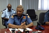 PNG Acting Police Commissioner Geoffrey Vaki