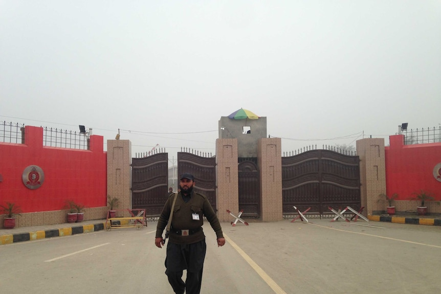 The  Bacha Khan University, where 21 people, mostly students died in a Taliban attack.
