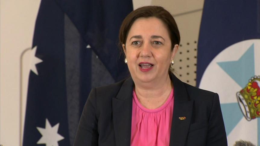 Queensland Premier Annastacia Palaszczuk gives COVID-19 update in Brisbane