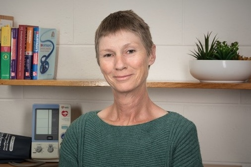 Dr Suzy Baudoeuf pictured in her consulting room.
