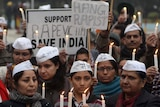 Protesters call for rapists to be hanged