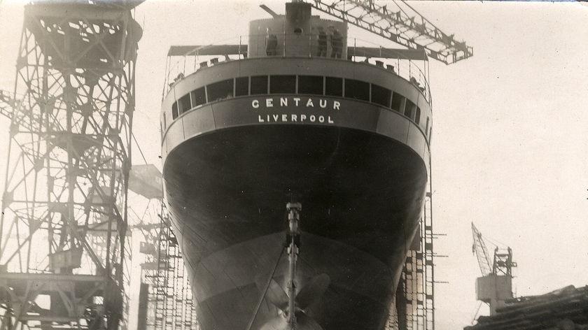 Professional wreck-hunters found the World War II hospital ship Centaur off the southern coast of Moreton Island yesterday.