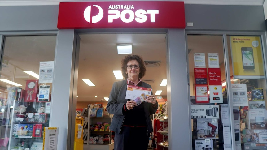 Angela Cramp Chief Executive of the Licensed Post Office Group