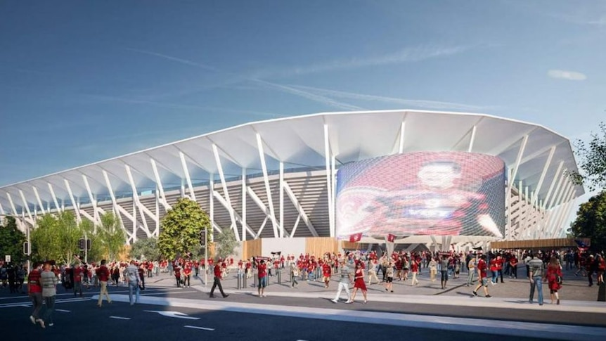 The NSW Government has released the design for the new stadium.