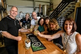Suzie Clarke running a food and drinks tour at Kalki Moon Distillery in Bundaberg