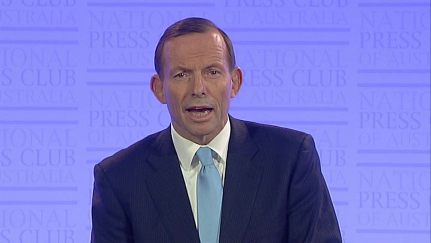 Abbott promises 'grown up' government that will 'stop the boats, waste and carbon tax'